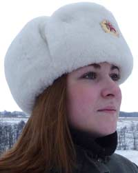 Ushanka winter hat
